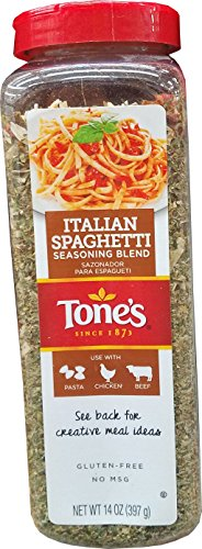 Tone's Italian Spaghetti Seasoning Blend, 14 Ounce
