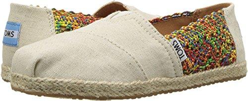 TOMS Kids Girl's Alpargata (Little Kid/Big Kid) Multi Crochet/Hemp Rope Sole 13 M US Little Kid