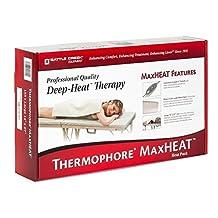 "Thermophore MaxHeat Deep-Heat Therapy, Large, Standard 14"" x 27"" (Auto-Switch)"