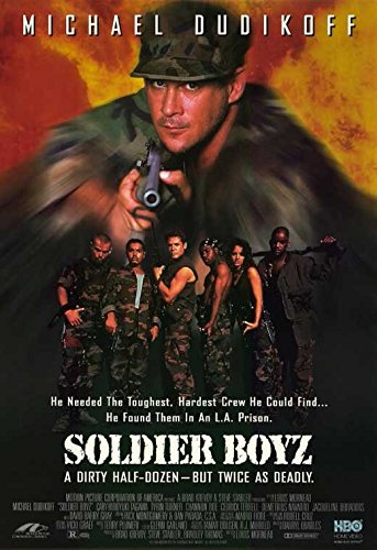 Michael Turner Artwork (Soldier Boyz Poster Movie 11x17 Michael Dudikoff Cary-Hiroyuki Tagawa Tyrin Turner)