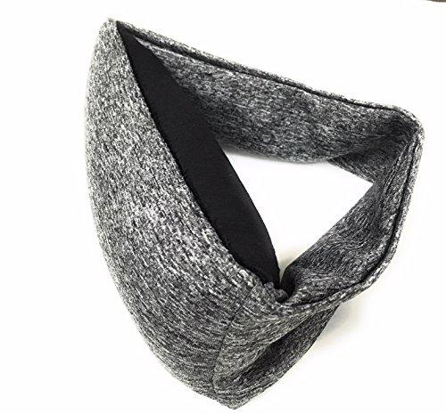 Small Travel Pillow & Eye Mask – Men, Women & Kids: 2-in-1 Portable & Lightweight   Home / Office Naps, Airplane, Car…