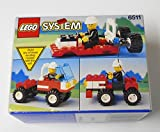 LEGO Systems RSQ911 Fire Rescue Runabout 6511 from 1992