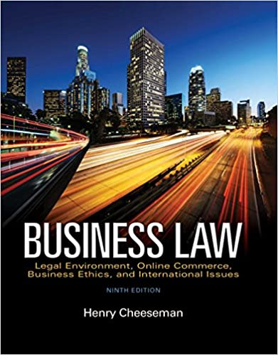 Amazon business law legal environment online commerce amazon business law legal environment online commerce business ethics and international issues ebook henry r cheeseman kindle store fandeluxe Gallery