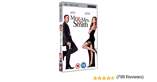 Mr And Mrs Smith 2005 Umd Pour Psp Amazon Ca Dvd
