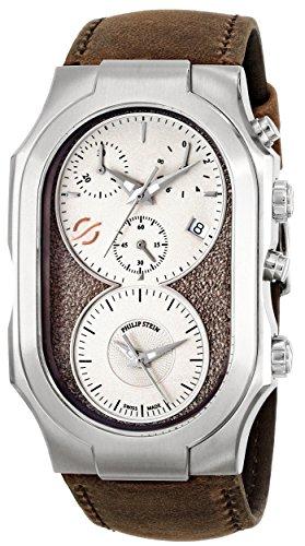 Philip-Stein-Mens-300-SBE-CASTBR-Swiss-Signature-Analog-Display-Swiss-Quartz-Brown-Watch