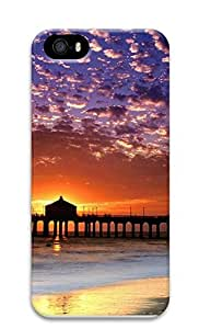 iPhone 5 5S Case landscapes nature sunset beach 2 3D Custom iPhone 5 5S Case Cover