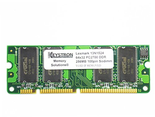 13N1524 256MB 100pin DDR1 Memory Upgrade for Lexmark Printer (X852e Mfp Laser)
