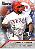 2016 Topps Bunt #68 Prince Fielder Texas Rangers Baseball Card in Protective Screwdown Display Case