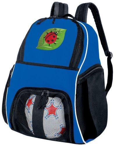 - Broad Bay Ladybug Soccer Ball Backpack Ladybugs Volleyball Bag Travel Practice