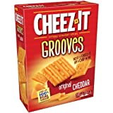 Cheez-It Grooves Crispy Cracker Chips - Original Cheddar 9 oz. (Pack of 2)