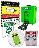 Emergency EyeWash Station OSHA Portable - Bundle