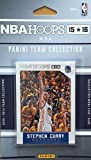 Golden State Warriors 2015 2016 Hoops Basketball Factory Sealed 10 Card NBA Licensed Team Set with Stephen Curry Plus