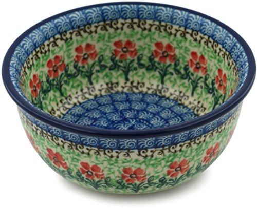 Polish Pottery Bowl 5-inch Maraschino made by Ceramika Artystyczna Polish Cereal