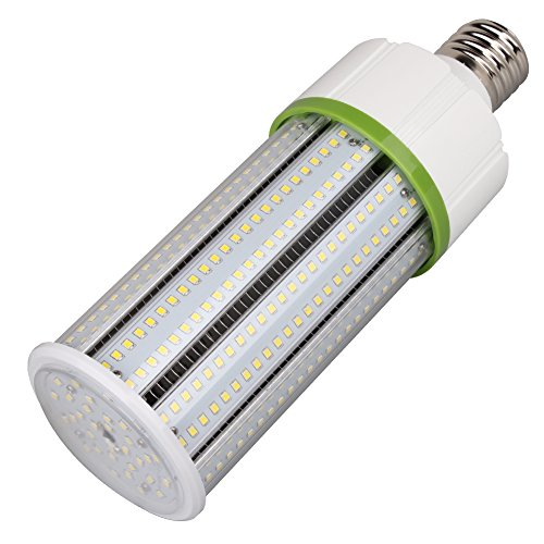 60W LED Corn Light Bulb 8100Lm 175W to 250W Metal Halide HID HPS Replacement LED, Large Mogul E39 Base Led Corn Bulb for Industrial Commercial Lighting, Garage, Warehouse, Parking Lot, -