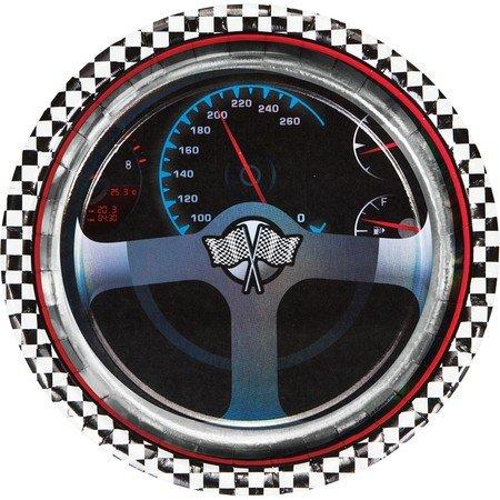 Car Racing Plates - 8 3/4