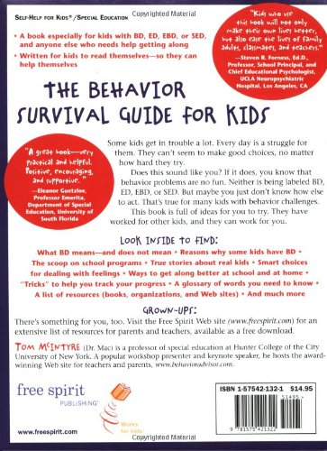 Math Worksheets fun middle school math worksheets : The Behavior Survival Guide for Kids: How to Make Good Choices and ...