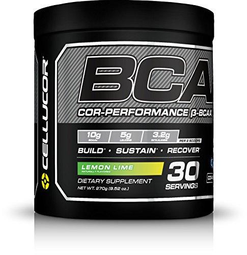 Cellucor, BCAA Supplement, Lemon Lime, 30 Servings