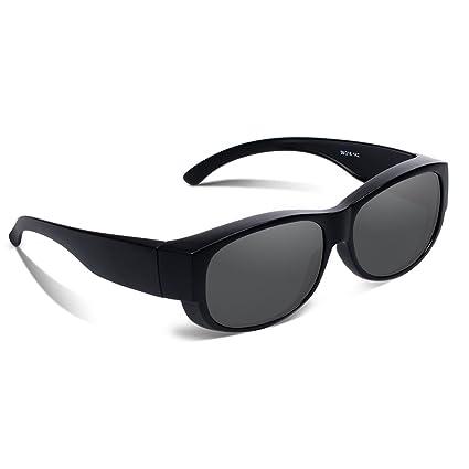 9611cee811 Amazon.com   Ewin O02 Polarized Fit Over Sunglasses Prescription ...