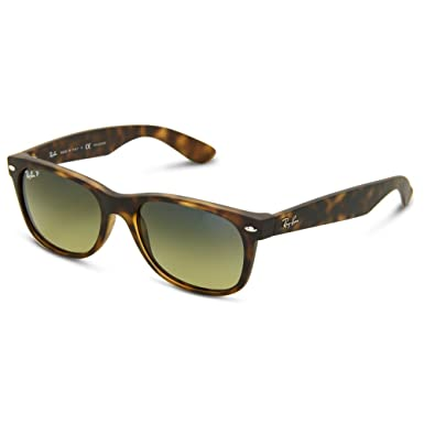 bb5c621f679 Image Unavailable. Image not available for. Color  Ray-Ban Authentic New  Wayfarer RB2132 894 76 Havana Frame   Blue-Green