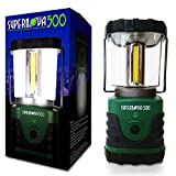 LED Camping Lantern - Supernova 500 Ultra Bright Camping & Emergency LED Lantern, Forest Green