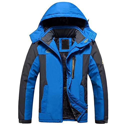 4d7a9fed203 Image Unavailable. Image not available for. Color  EbuyChX Plus Size Men s  Snow Windproof Waterproof Ski Winter Mountain Fleece ...