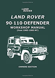 land rover 90 110 and defender service and repair manual haynes rh amazon com land rover discovery td5 workshop manual pdf Land Rover Defender Truck