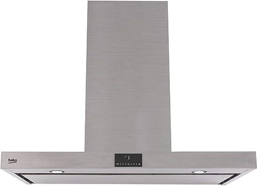 Beko HCI91845BXH - Campana (750 m³/h, A, A, B, 57 dB, 45 dB): Amazon.es: Hogar