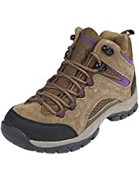 Womens Pioneer Mid Rise Leather Hiking Boot