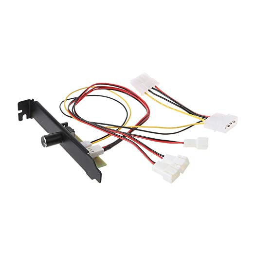 Anjuley - Ventilador de 3 Canales para Ordenador y PC, Controlador ...