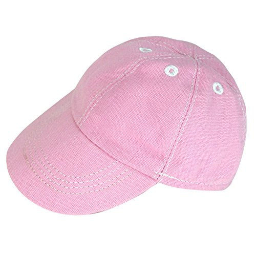 - 18 Inch Doll Hat by Sophia's | Light Pink Baseball Cap for Dolls | Fits 15 Inch and 18 Inch Dolls