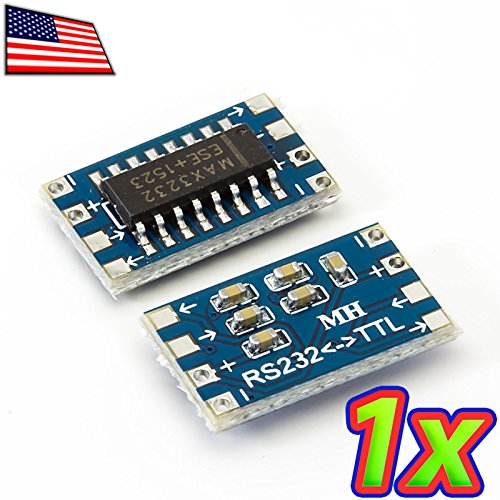 Rs 232 Protection Module - UPGRADE INDUSTRIES - [1x] MAX232 RS-232 MAX3232 to Serial UART TTL Voltage Converter Module 3.3V 5.0V by UPGRADE INDUSTRIES