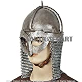 Functional Viking Gjermundbu Helmet With Chainmail By Nauticalmart