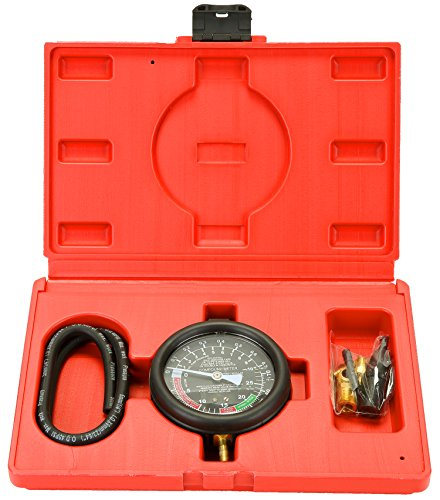 8milelake Fuel Pump & Vacuum Tester Gauge Leak Carburetor Pressure Diagnostics