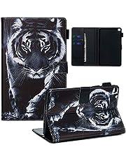 Samsung Galaxy Tab A 8.0 (2019) Case, SATURCASE mooi patroon PU lederen Flip Magneet Portemonnee Stand Card Slots Case Cover voor Samsung Galaxy Tab A 8.0 (2019) SM-T290 T295 YPW-9