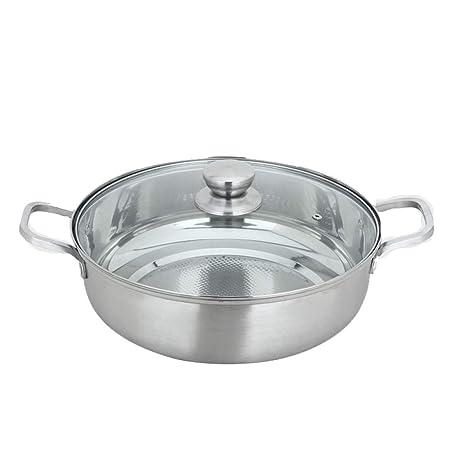 Amazon.com: ZXZV - Olla de acero inoxidable 304 para sopa ...