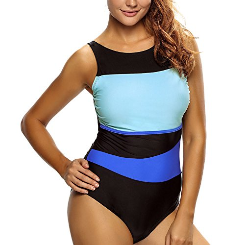 elakaka-chic-color-block-accent-hollow-out-one-piece-swimsuitsizexl