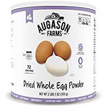 Augason Farms Whole Egg Product 33 oz #10 Can