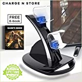 Kootek Vertical Stand for PS4 Slim with Cooling...