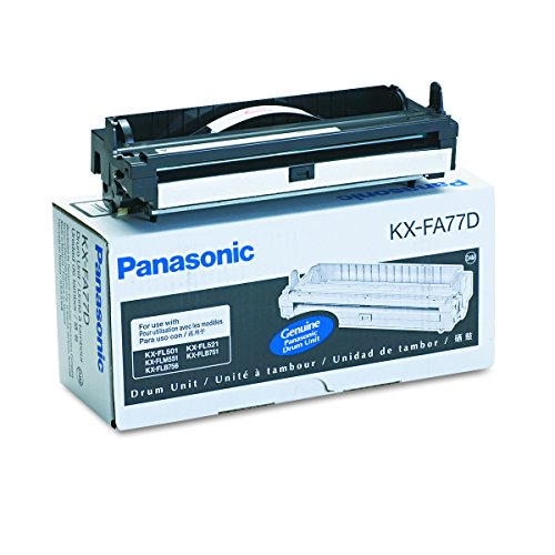 Panasonic KXFA77D Drum Cartridge, Black