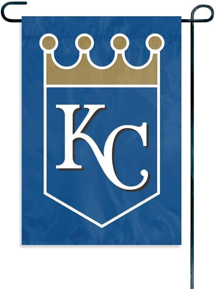 The Party Animal Officially Licensed MLB GMKCR Kansas City Royals Premium Garden Flag
