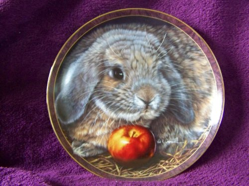1997 Bradford Exchange Bunny Tales Collectible Plate