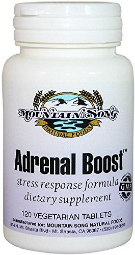 Adrenal Boost Stress Response-Powerful Adrenal Support Formula with Adaptogenic Herbs helps Fight Adrenal Fatigue. Extracts of Rhodiola, Ashwaganda, and Eleuthero help Support Healthy Adrenal -