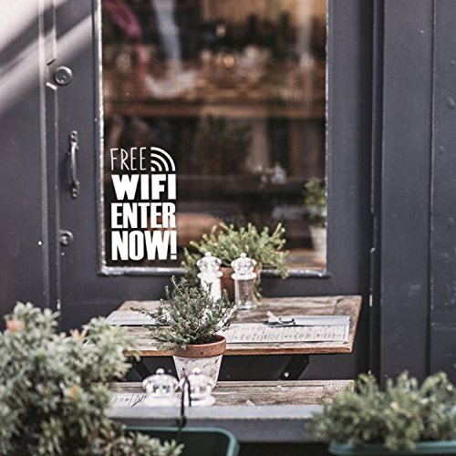 Free WiFi Business Sign - 16