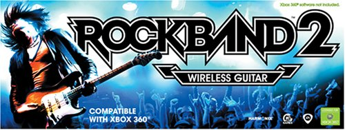 Xbox 360 Rock Band Wireless Fender Guitar Controller (Xbox 360 Rock Band 2 Standalone Guitar)