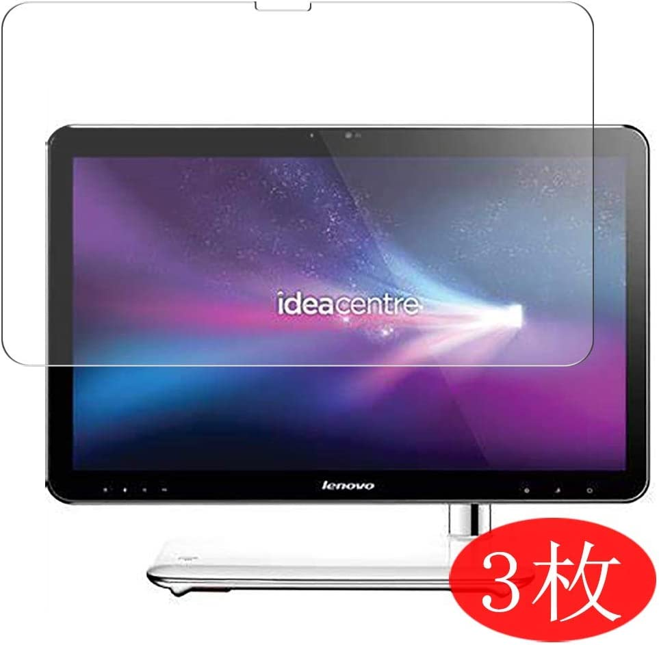"""【3 Pack】 Synvy Screen Protector for Lenovo ideacentre a320 aio 21.5"""" All in ONE TPU Flexible HD Film Protective Protectors [Not Tempered Glass]"""