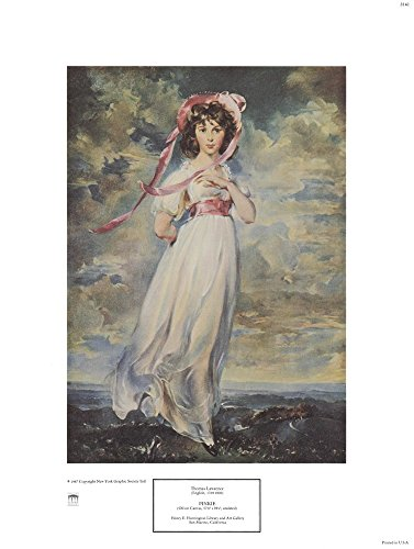 Pinkie, 1794 by Sir Thomas Lawrence Art Print, 12 x 16 inches