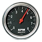 Auto Meter 2499 Traditional Chrome In-Dash Electric Tacho...