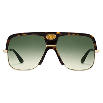 Gafas de Sol Gucci GG0478S HAVANA/GREEN SHADED hombre ...
