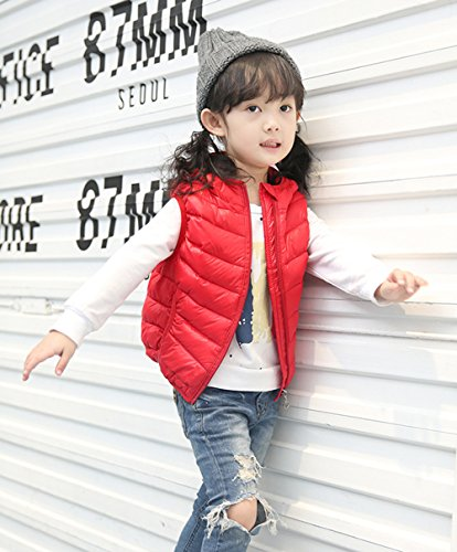 Jacket Outwear Chic Lightweight Lemonkids;® Winter Children Kids Red Vest Hooded wRqxZB8