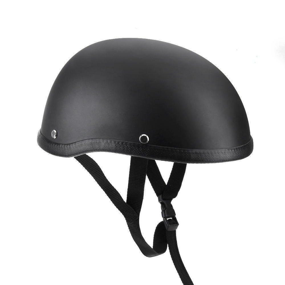 ETbotu Motorcycle Half Helmet Hat Professional Safety Cap for Motorbike Harley Chopper Bobber Unisex